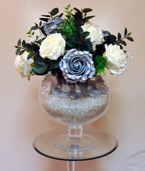 Wedding Flowers In Silk : Real silk wedding flowers gretna flower basket