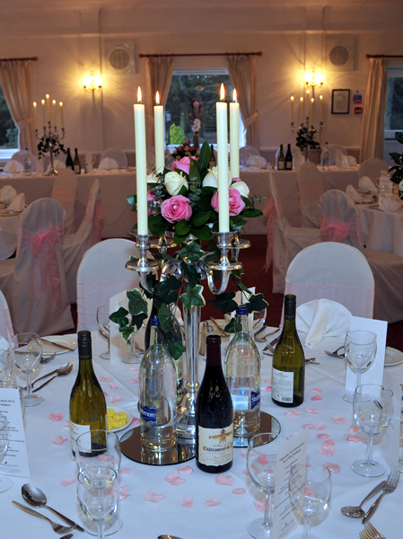 Wedding Venue Decoration Gretna Green Gretna Flower Basket